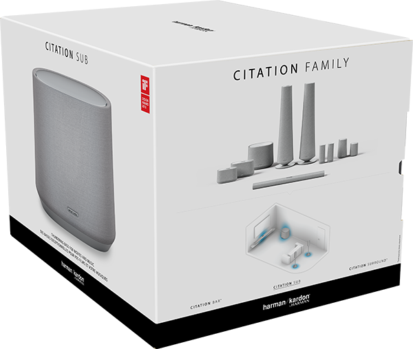 Harman Kardon Citation Wireless Subwoofer – Gri