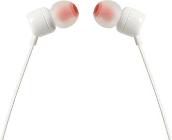 JBL T110 Kulak İçi Kulaklık - White