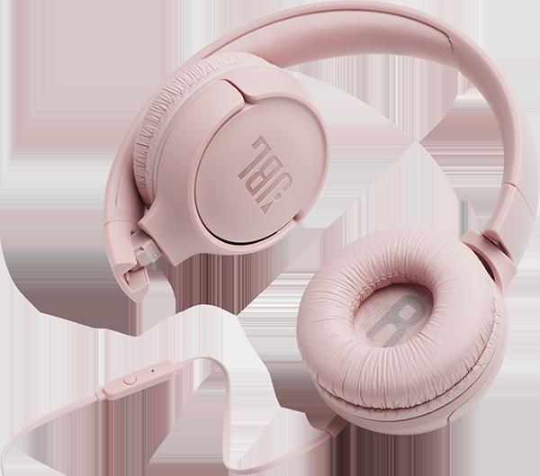 JBL T500 Kulak Üstü Kulaklık - Pink