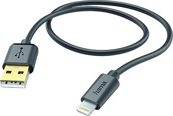 iPhone Lightning USB Kablo, Siyah
