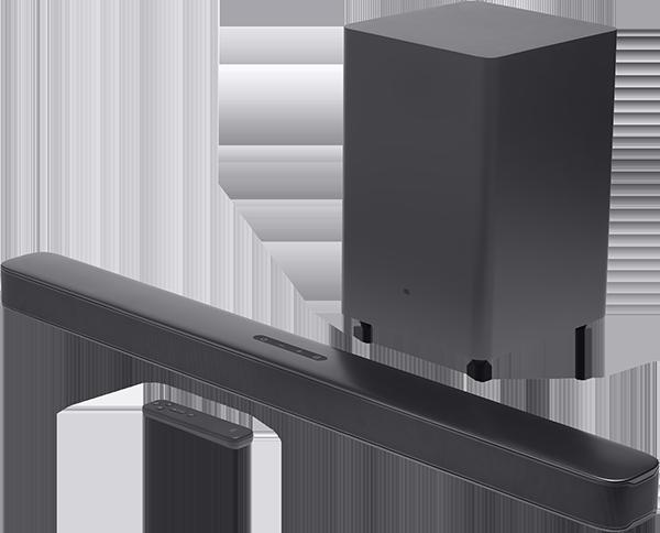 BAR 2.1 4K Deep Bass Soundbar ve Wireless Subwoofe