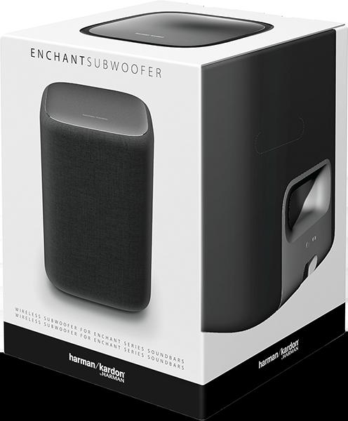 Enchant Wireless Subwoofer, Siyah