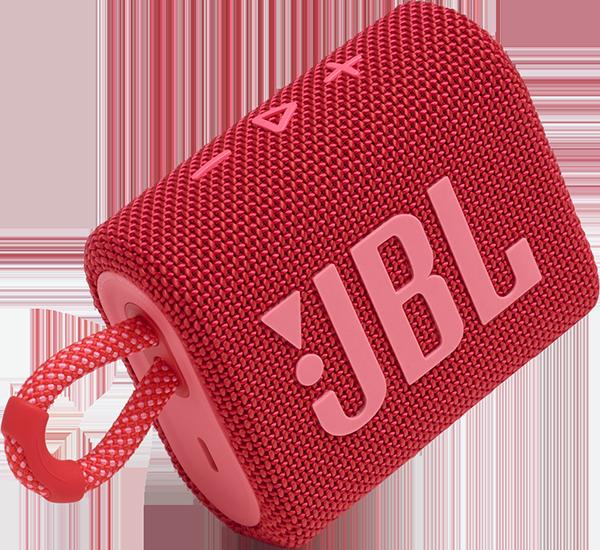 JBL Go 3 Taşınabilir Bluetooth Hoparlör - Kırmızı