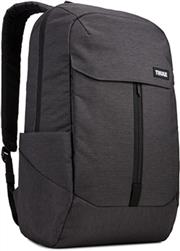 "Lithos 20L Notebook Sırt Çantası, Black 15,6"""