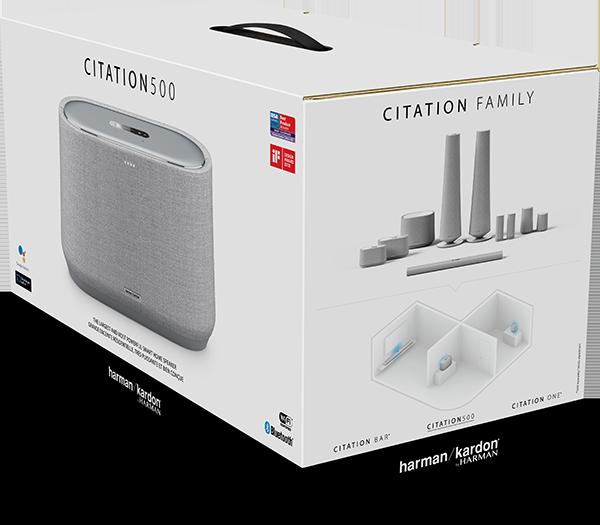 Harman Kardon Citation 500 Bluetooth Hoparlör – Gri