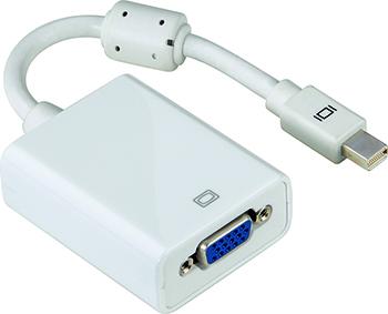 Adaptör Mini DisplayPort Fiş - VGA Soket