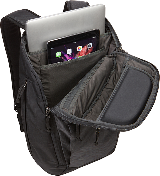 Enroute 23L Notebook Sırt Çanta, Black 15.6""