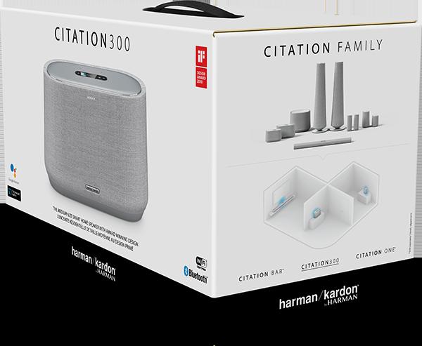 Harman Kardon Citation 300 Bluetooth Hoparlör - Gri