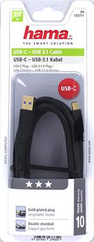 USB-C fiş - USB 3.0 A fiş, altın uçlu, 1.80 m