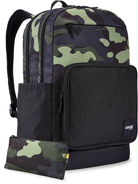 Case Logic Query 15.6'' Notebook Sırt Çantası – Iguana/Camo