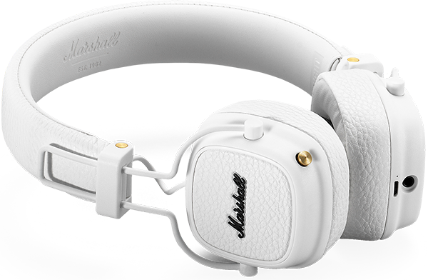 Marshall Major III Bluetooth, CT, White
