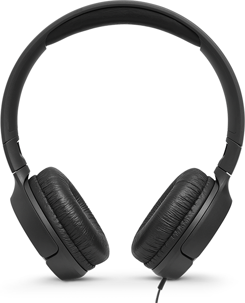 JBL T500 Kulak Üstü Kulaklık - Black