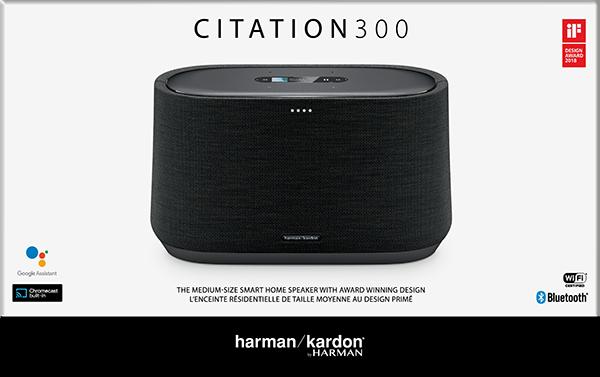 Harman Kardon Citation 300 Bluetooth Hoparlör - Siyah