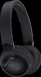 JBL T600BTNC Kulak Üstü ANC Bluetooth Kulaklık - Black