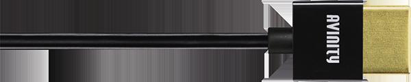 Hama Avinity, HS HDMI, 4K, UltraThin,Altın Uç,1.5m