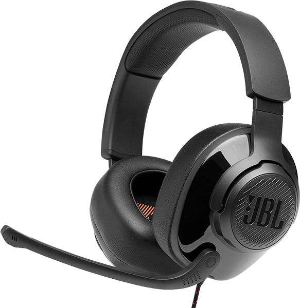 JBL Quantum 200 Gaming Kulak Üstü Kulaklık - Siyah