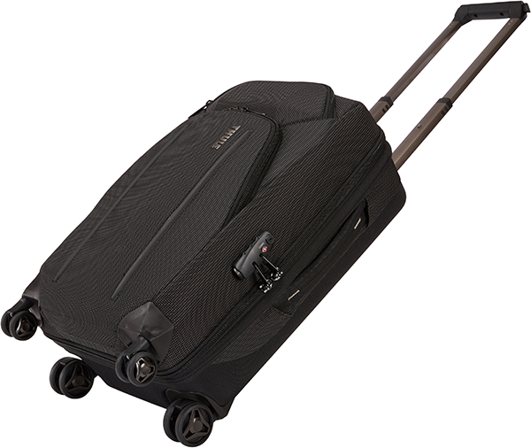 Crossover2, 4 Tekerlekli Carry On, Black