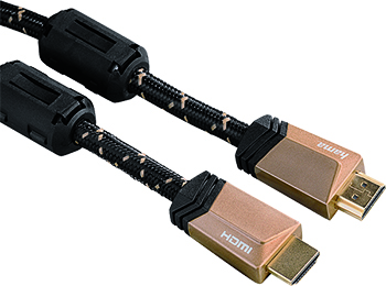 HS HDMI Ethernet Manyetik Filtre,Altın Uç, 4K 1.5m